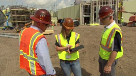 Field Personnel Use Ipad Pros With Proprietary Software