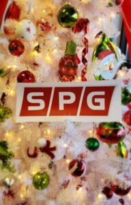 SPG Holiday greetings
