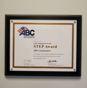 Step safety award