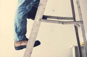 Ladder safety topic